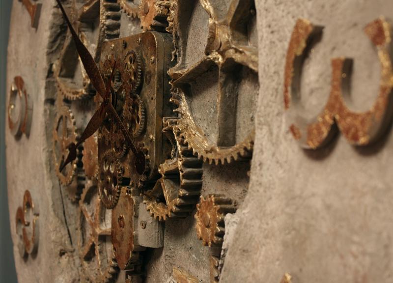 zegary ścienne retro