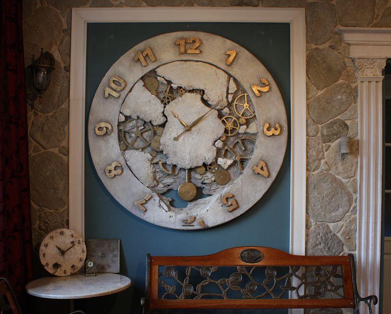 zegar ściana