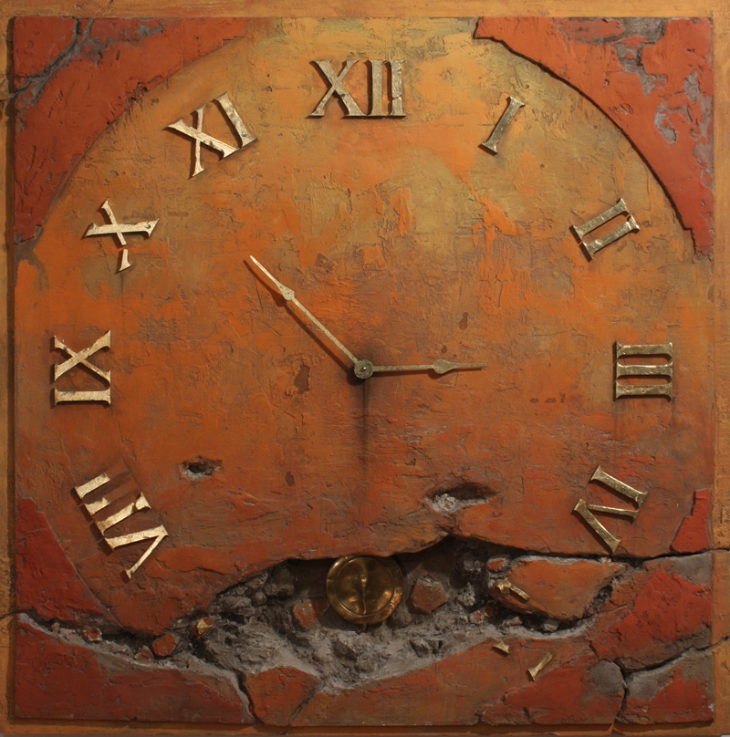 zegar ścienny do salonu