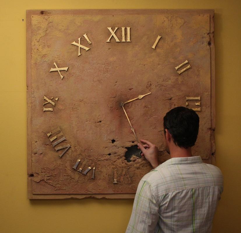 zegar wnętrza inspiracje